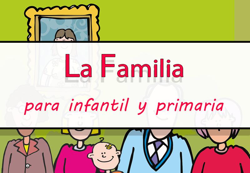 recursos para trabajar la familia