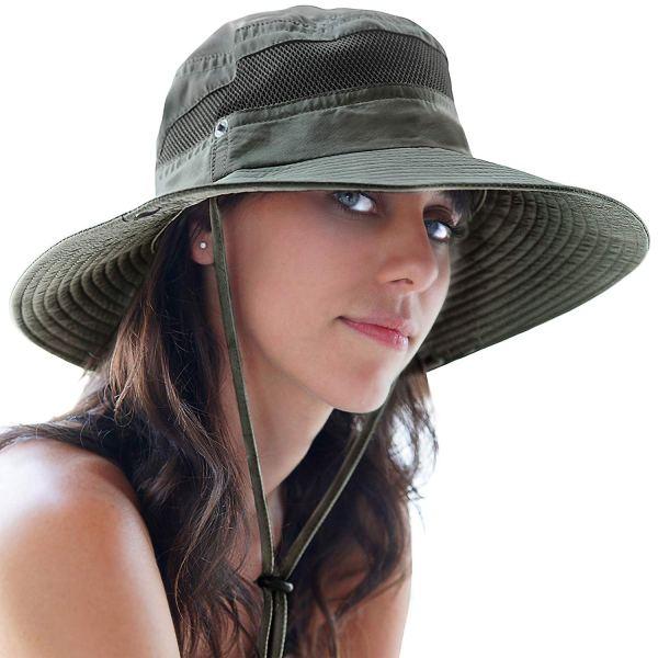 gorro de pesca mujer