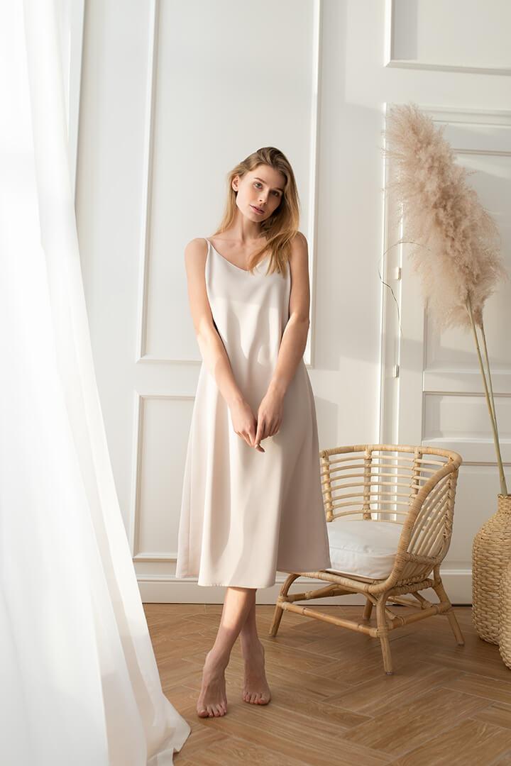 Платье-комбинация DEplace
