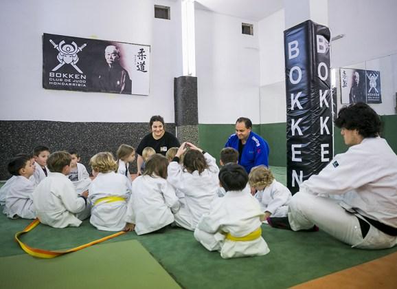 Club Bokken, judo para niños en Hondarribia e Irun