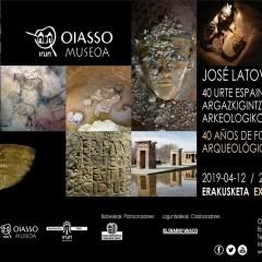 EXPOSICIÓN «CUARENTA AÑOS DE FOTOGRAFÍA ARQUEOLÓGICA ESPAÑOLA» – MUSEO OIASSO (IRUN)