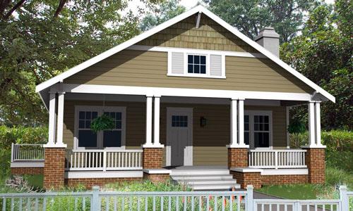 casa de un piso y tres habitaciones