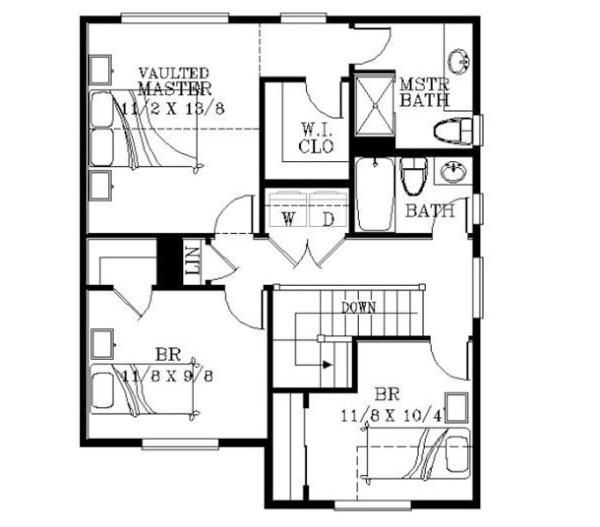 Casa de dos pisos tres habitaciones y 123 metros for Piso 60 metros cuadrados 3 habitaciones