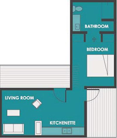 Casa de 1 dormitorio y 46 metros cuadrados planos de casas gratis deplanos com - Pasar de metros a metros cuadrados ...