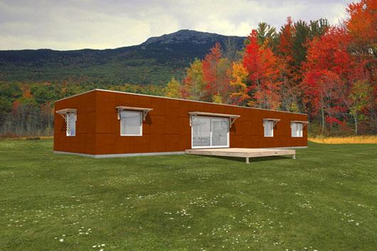 Casa moderna de 2 dormitorios y 183 metros cuadrados