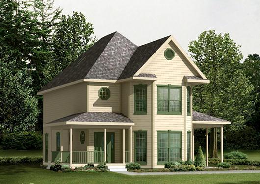 Casa de campo de dos pisos, tres dormitorios y 169 metros cuadrados