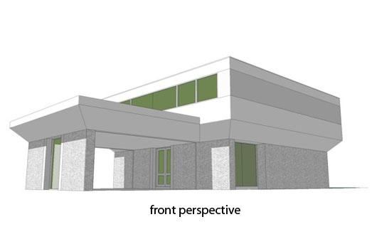 Moderna casa de dos pisos, cuatro dormitorios y 316 metros cuadrados