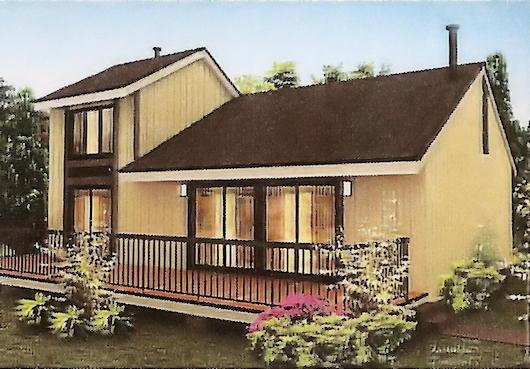 Casa de dos dormitorios, dos pisos y 142 metros cuadrados