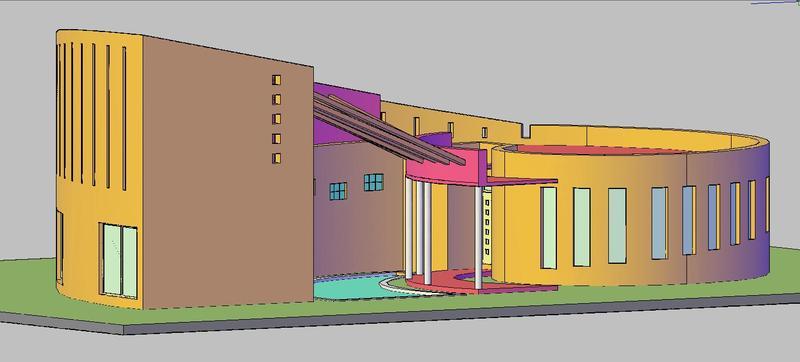 Casa caracol de 4 dormitorios