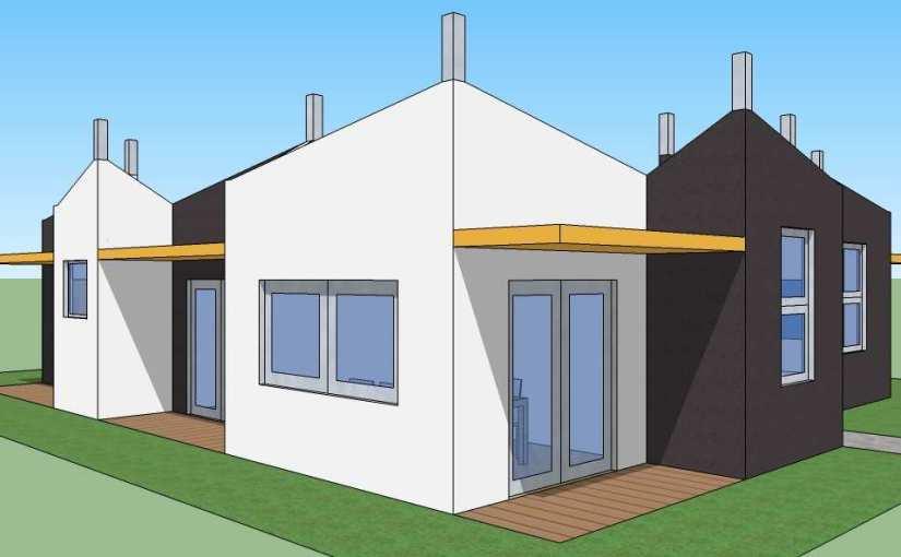Casa de cuatro dormitorios y 151 metros cuadrados