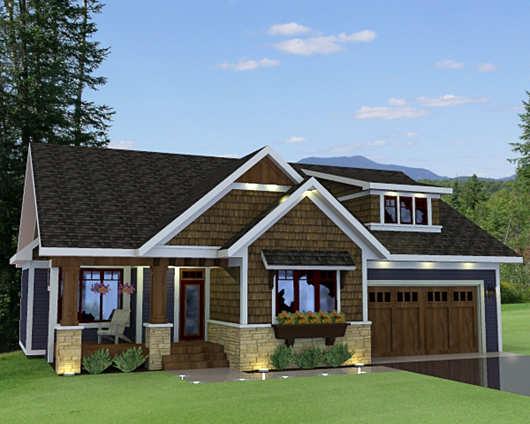 Casa de dos pisos y cuatro dormitorios para dos familias