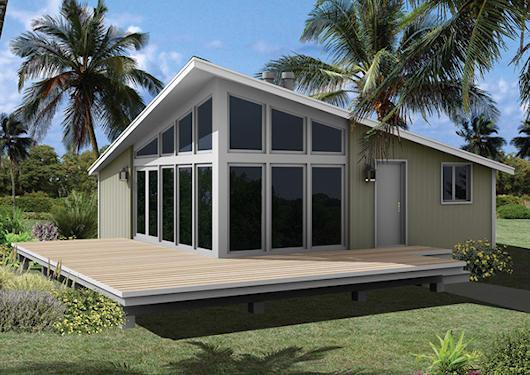 Moderna casa de campo de 3 dormitorios y 73 metros cuadrados