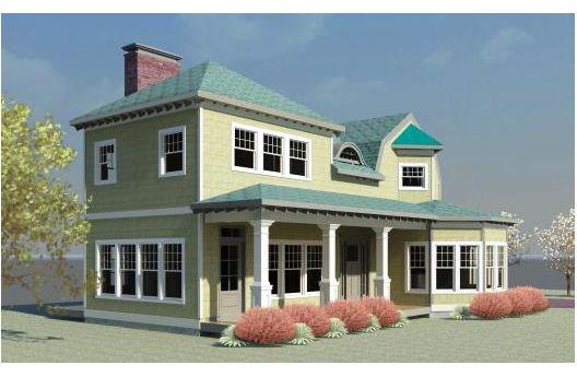 casa de dos plantas tres y metros cuadrados