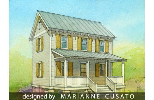 Casa para construir en etapas de dos plantas tres dormitorios y 100 metros cuadrados