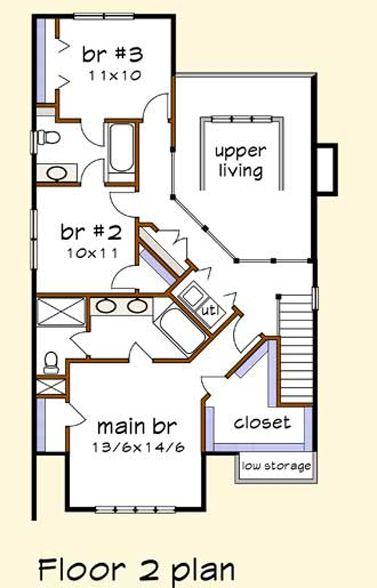 Casa tradicional de dos pisos tres dormitorios y 165 for Casa 2 plantas 160 metros cuadrados
