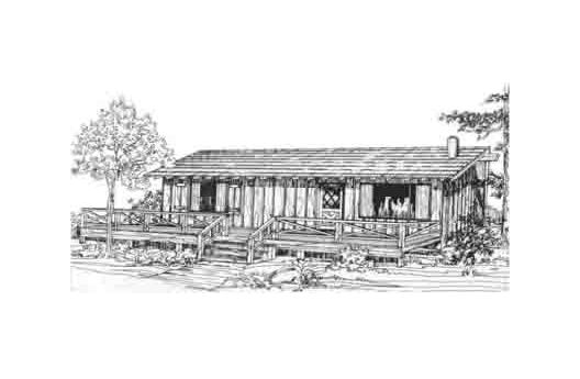 Pequeña casa de dos dormitorios y 80 metros cuadrados
