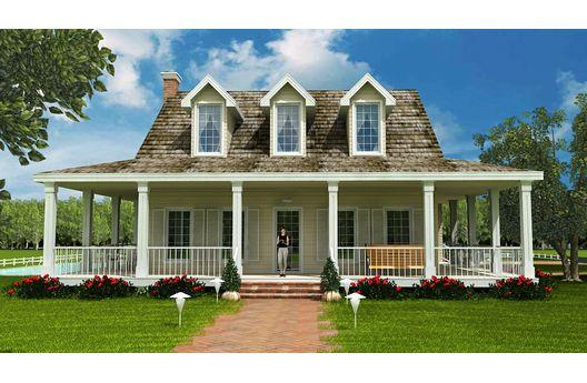 Casa americana de tres dormitorios y 301 metros cuadrados
