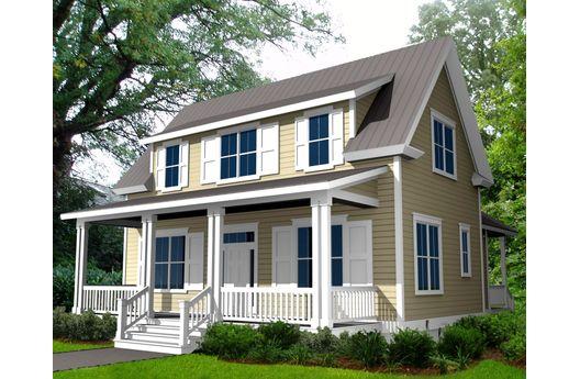 Casa de madera de dos plantas tres dormitorios y 164 for Casa de 2 plantas de 70 metros cuadrados