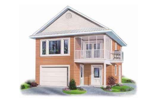 Bonita casa cuadrada de dos plantas dos dormitorios y 100 for Casa de 2 plantas de 70 metros cuadrados