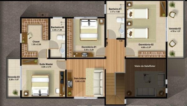 Casa moderna de ciudad de dos plantas tres dormitorios y Casas modernas una planta 3 dormitorios