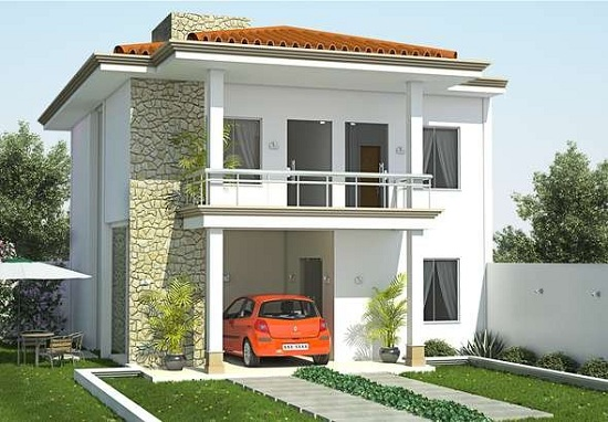 planos de casas de dos pisos pequenas