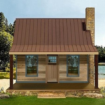 Casa de campo de dos dormitorios y 70 metros cuadrados for Casas con planos y fotos
