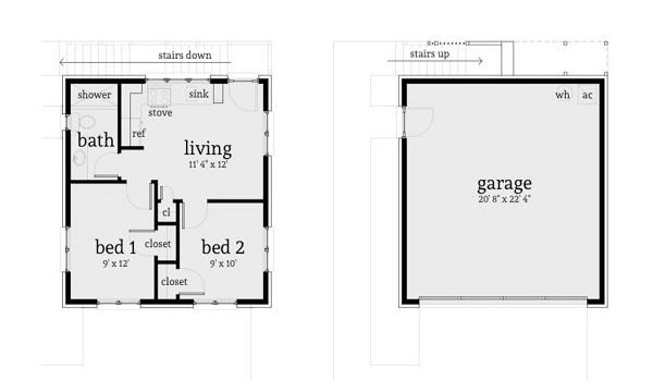Versaltil plano de casa de dos plantas y 94 metros for Casa 2 plantas 160 metros cuadrados