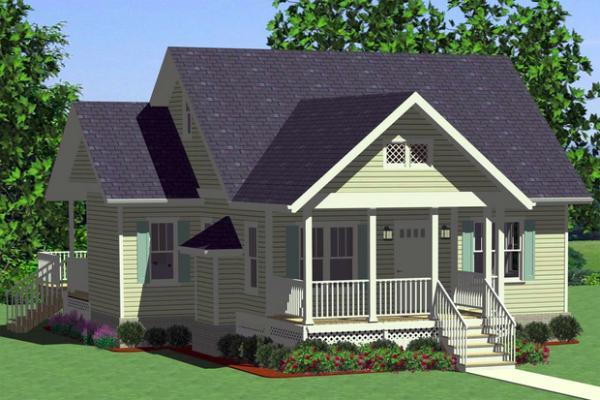 Plano de casa de un piso dos dormitorios y 99 metros for Casa moderna 50 metros cuadrados
