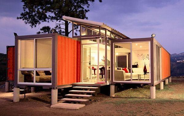 Planos de casas con contenedores maritimos planos de casas - Casa de contenedores ...