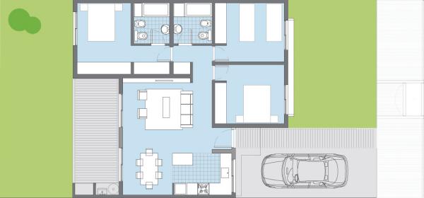 plan house elderberry procrear 3 yatak odaları