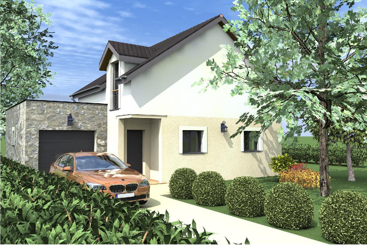 Casa de dos plantas 4 dormitorios y 109 metros cuadrados for Casa 2 plantas 160 metros cuadrados
