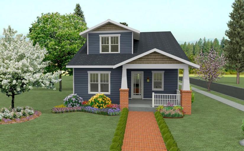 Plano de casa linda de 4 dormitorios, 2 pisos y 237 metros cuadrados