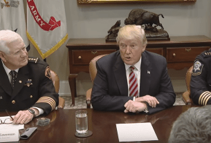 President Trump Hosts a Roundtable with the National Sheriffs Association