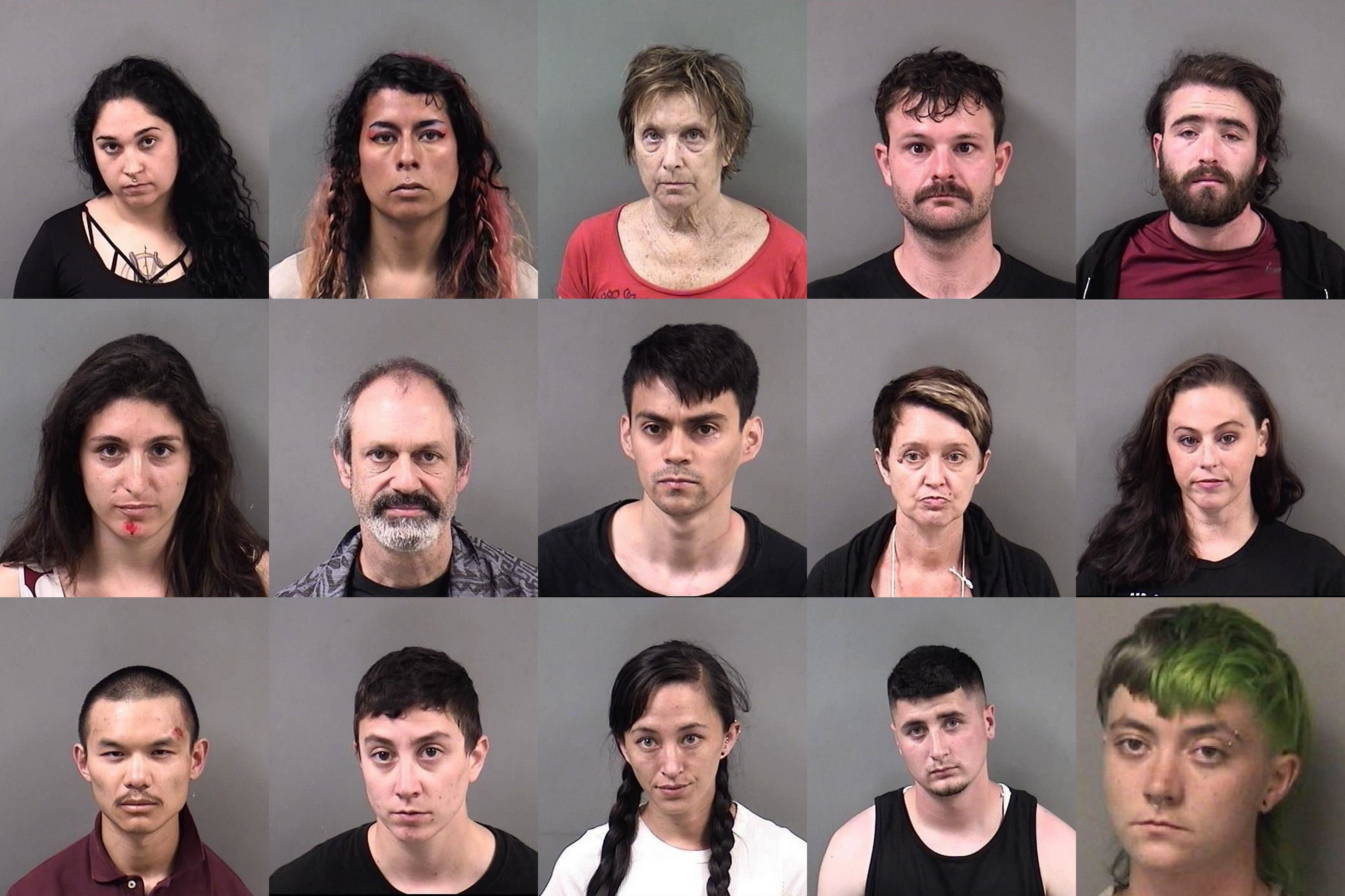 20 Antifa members arrested during protest in Berkeley