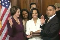 keith ellison sworn in on quran