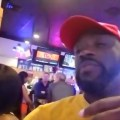 hooters waitress tells trump supporter to take off his maga hat