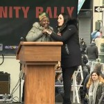laura loomer crashes women's march