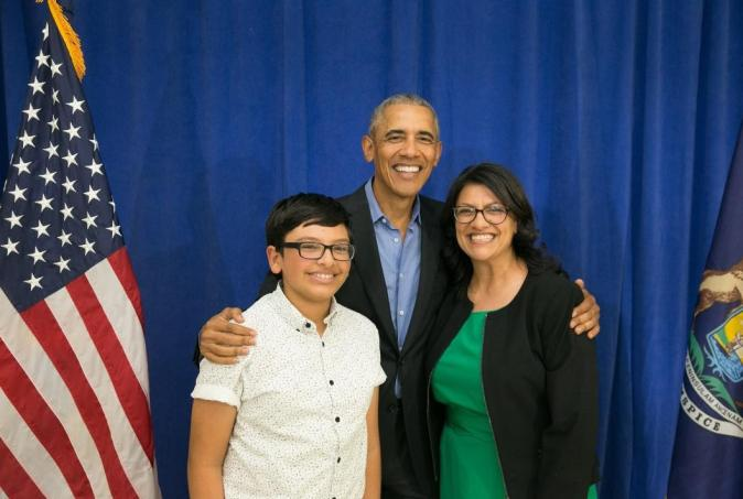 Obama endorses Rashida Tlaib