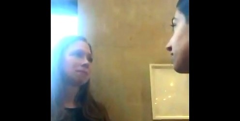 Woman Confronts Chelsea Clinton, blames her for the New Zealand mosque shooting