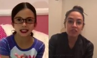 Little Girl Does Hilarious Alexandria Ocasio-Cortez Impersonation