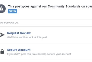 Facebook removes post about wanted kidnapper