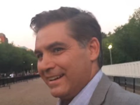 Jim Acosta Meets Mark Dice