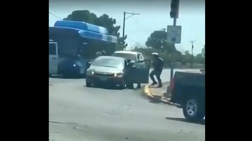 Video of shooting suspect being apprehended near Cielo Vista Mall