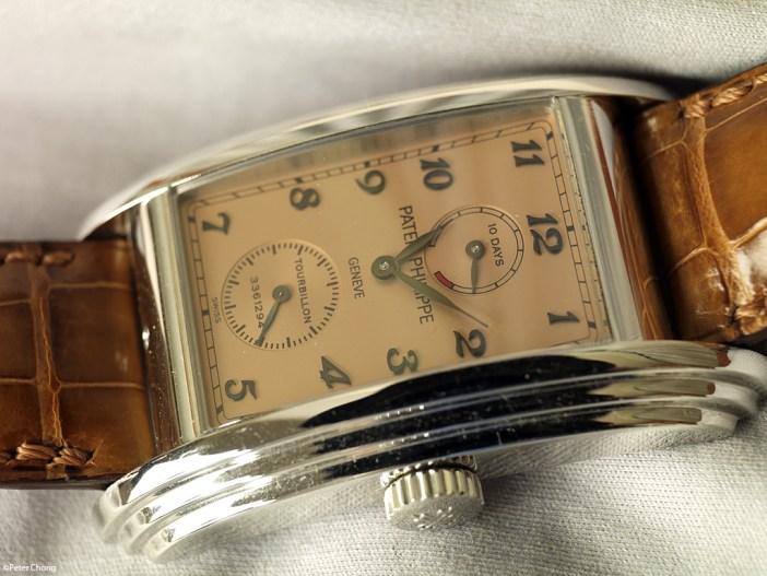 Patek Philippe Ref 5101 in platinum with salmon dial