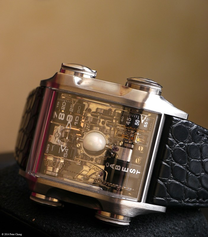 The Cabestan Terra Luna. A rather intriguing and unorthodox timepiece, both inside out.