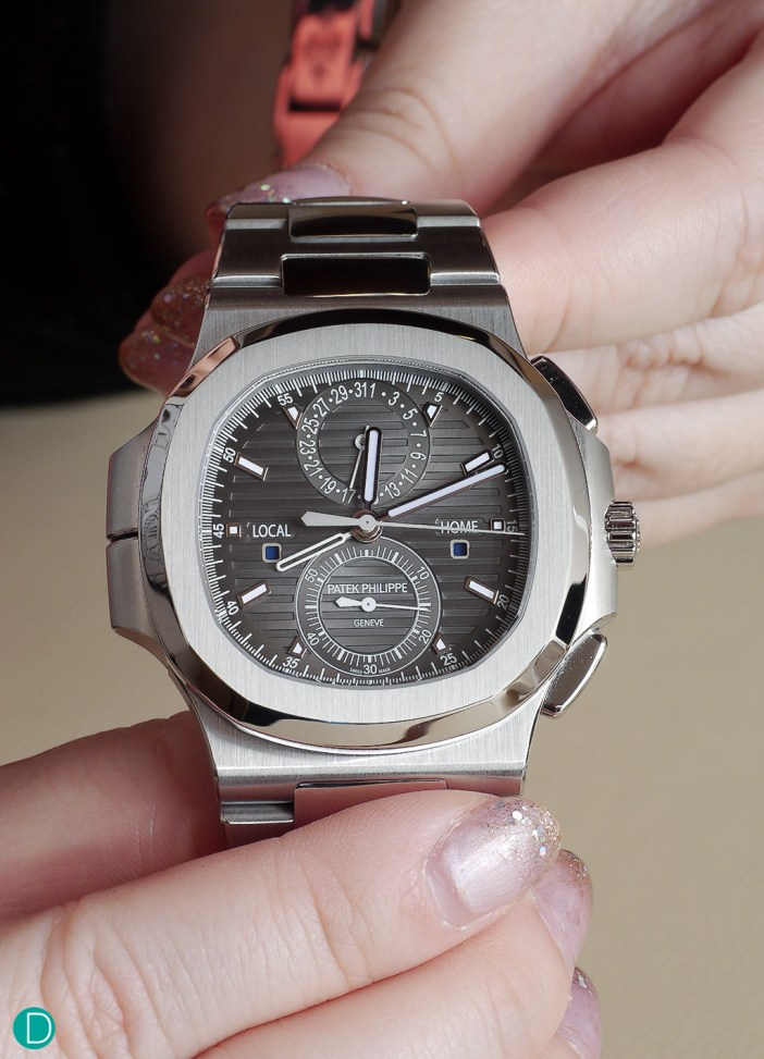 Patek Philippe 5990/1A Nautilus Travel Time Chronograph.