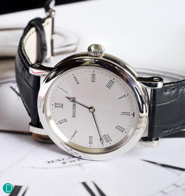 Haldimann H11: The first wristwatch made by Beat Haldimann that does not feature a tourbillon.