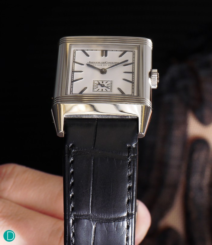 The JLC Grand Reverso Ultra Thin 1948, a magnificent reissue which celebrates the bon vivant of the 1950s.