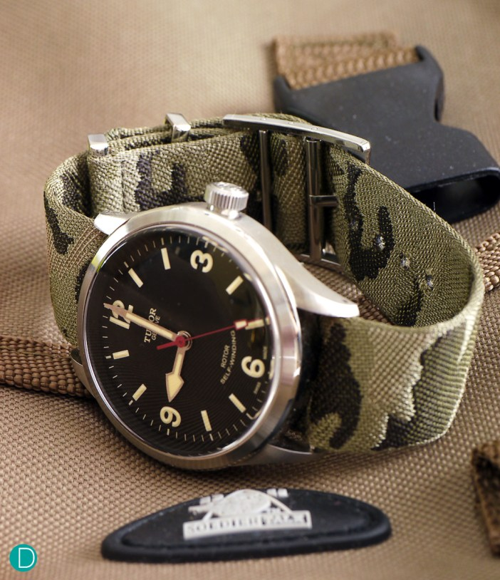 The Tudor Heritage Ranger with the nato strap option.