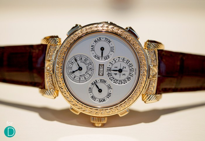 Functional on both sides, it is a marvel how all these functions can be squeezed into a single watch.